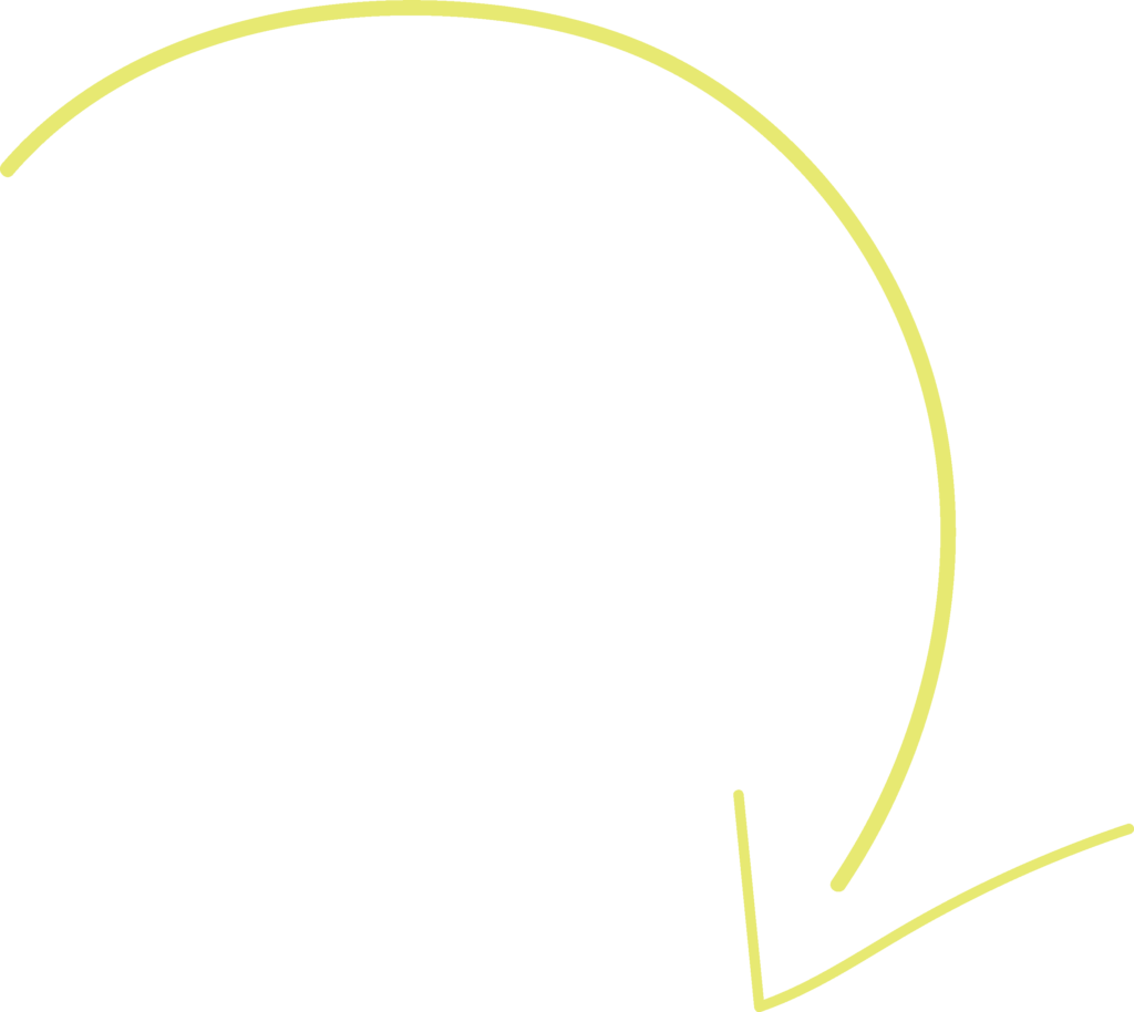 A yellow arrow pointing down